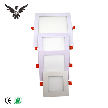 Good quality 3w 6w 9w 12w 18w 24w ceiling mini white ultrathin led panel down light