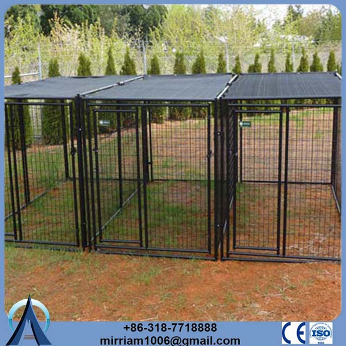 ISO 9024 or galvanized comfortable dog cage trolley