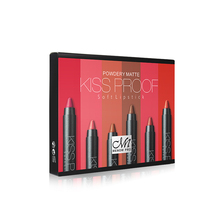 MENOW make-up 6 kuss proof wasserdichte lippenstift bleistift mit remover kosmetik comnination lip set