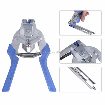 Hog Ring Pliers Tools 600pcs M Clips Staples Bird Chicken Mesh Cage ...