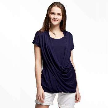 832143c5058 China OEM/ODM maternity clothes short sleeve cotton breastfeeding nursing  tops for mamas