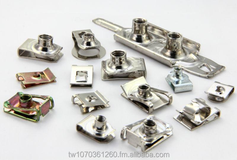 U Nut ( Fastener,U Clip,U Spring Nut,C-clip Speed Nut,U Type Nut ) - Buy U  Clip Nut Fasteners Product on Alibaba com