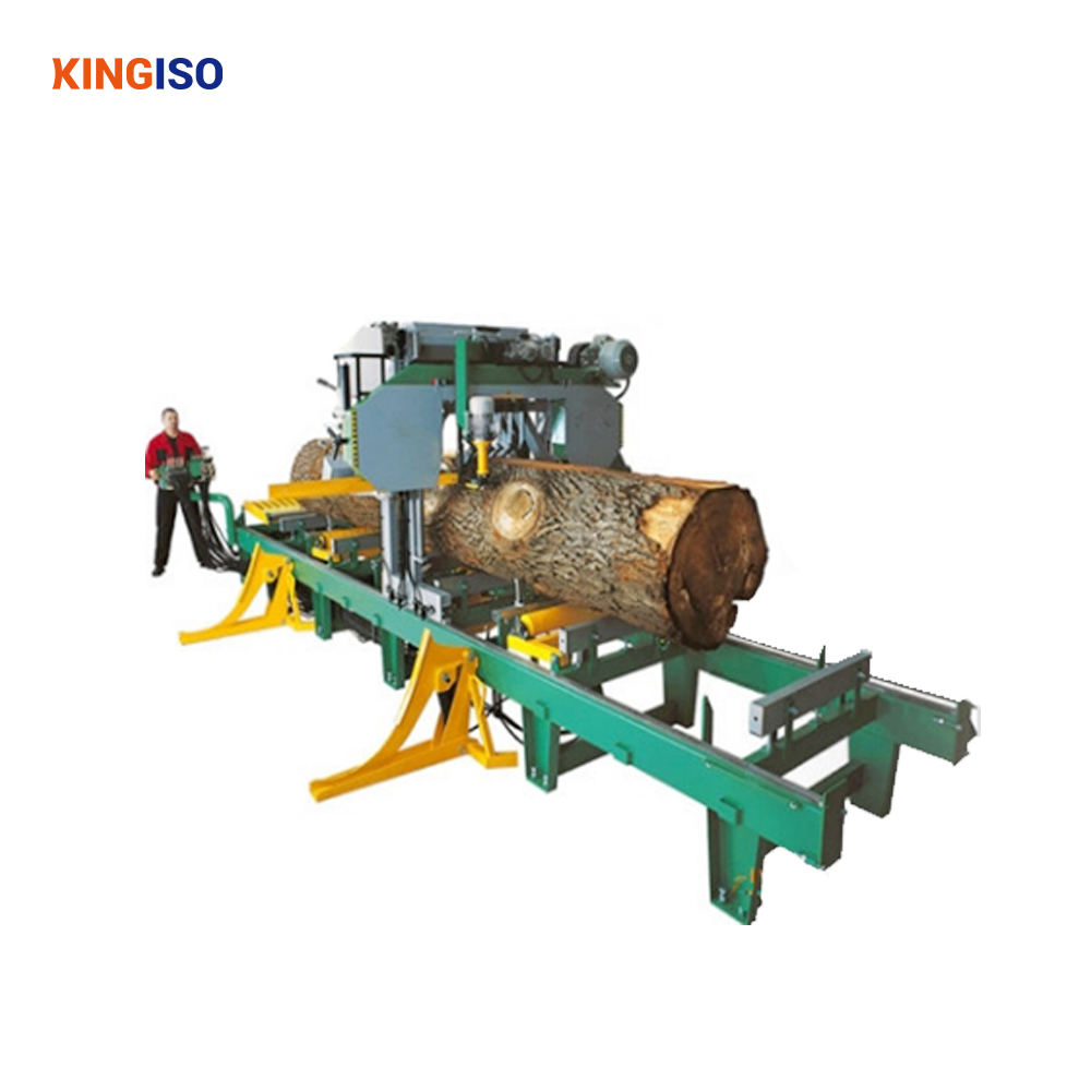 Horizontal Band Sawn Timber Cutting Machine with High Quality