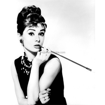 Audrey Hepburn Stretched Canvas Wall Art Home Office Decor Painting ...