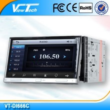 Touch screen bluetooth 7 inch 2 din car radio
