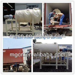 Best quality practical tile adhesive production mixer with latest technology hot sale export