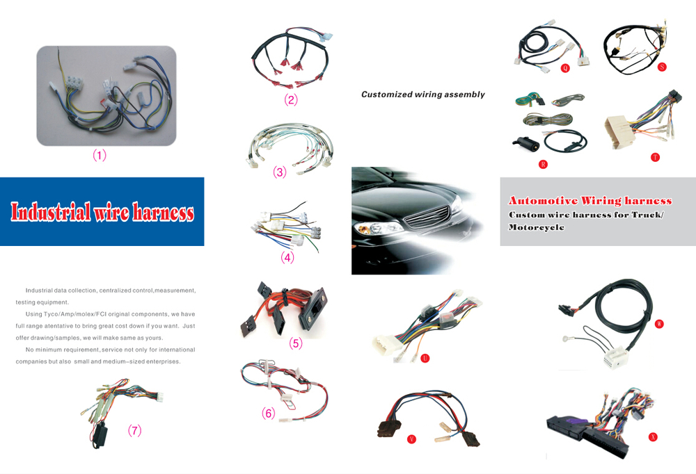 factory auto iso pin connector audio wire harness for factory auto iso 16 pin connector audio wire harness for mitsubishi