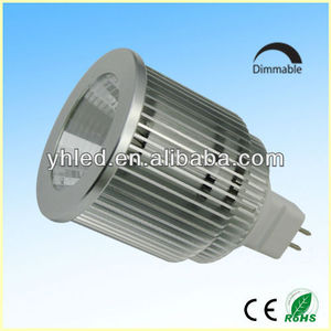 Factory High Brightness spot bulb mr16 2700k led spotlight gu10 6w