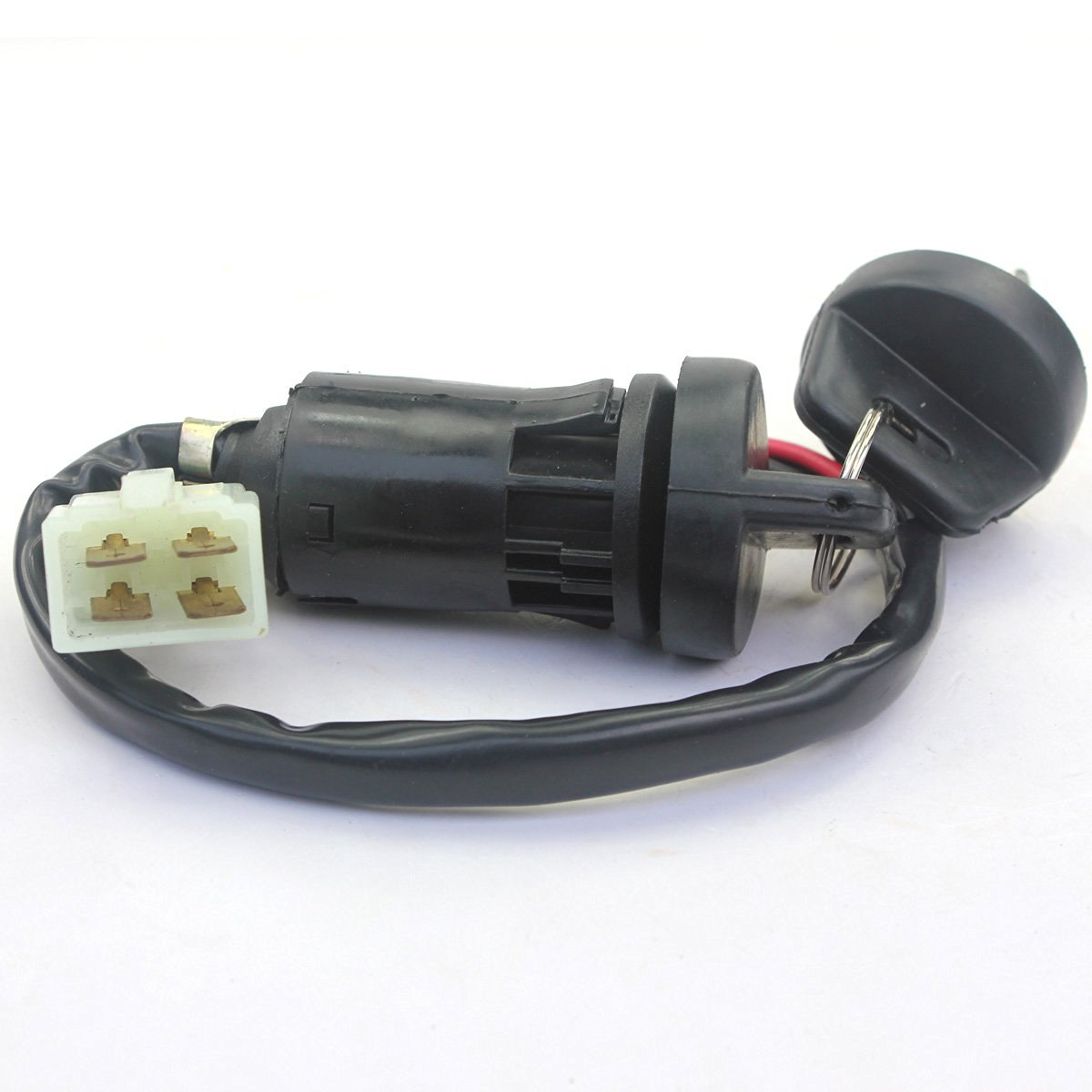 Wings Ignition Key Switch 4 Wires 50cc 70cc 90cc 125cc ATV Dirt Pit Bike