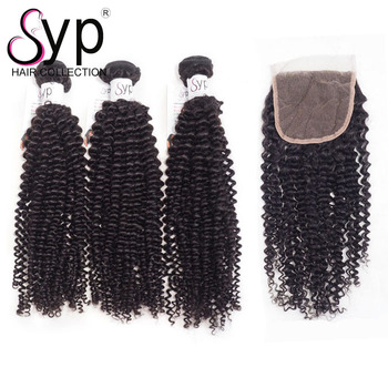 Unprocessed Wholesale 100% Brazilian Virgin Hair Bundles And Closure Overnight Shipping Top Billion