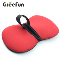 2019 Chinese New Design Heat Resistant Neoprene Bbq Oven Gloves Heat Resistant Kitchen For Cooking Baking Grilling Barbecue Red