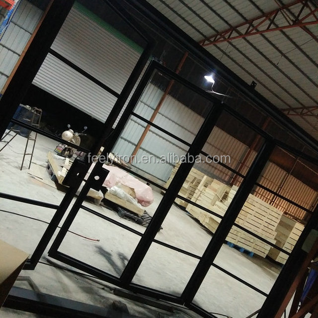 Small Wrought Iron Interior Folding Door