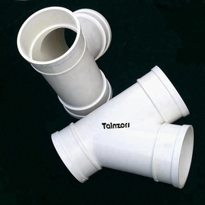3 way/y tee pvc pipe fittings for drainage upvc pipe