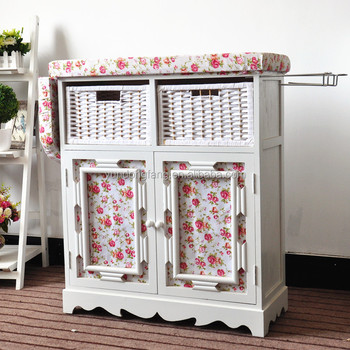 China Supplier Ironing Board Storage Cabinet Tall Cabinet With Drawers / Cabinet  Drawer Folding Wall Mounted