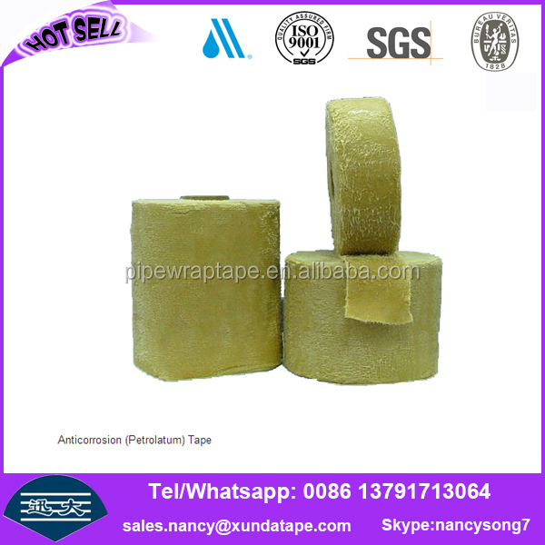 similar denso corrosion protection petrolatum pipe wrap tape