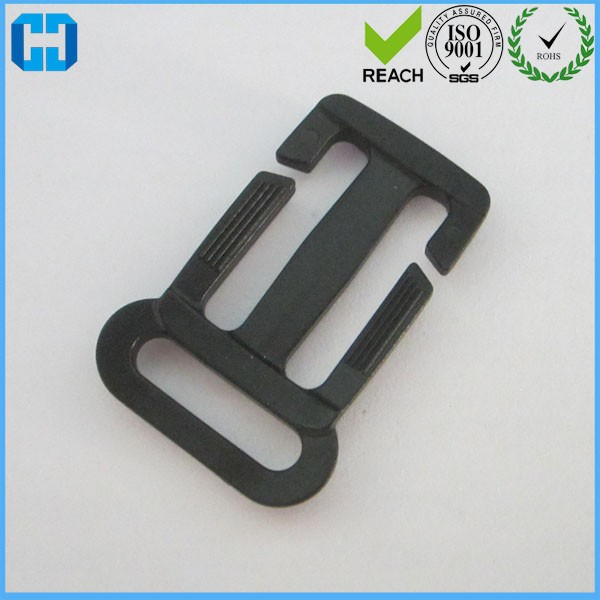 Plastic Multi-function Slider Tri-Glide Adjust Buckle For Backpack Strap