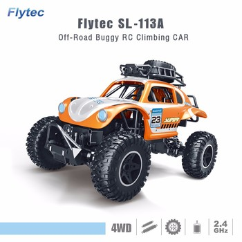 Flytec SL-113A 2.4Ghz 4WD High Speed 1:14 Radio RC Racing Cars Electric Fast Race Buggy Car For Boys Outing Competition Toy Car