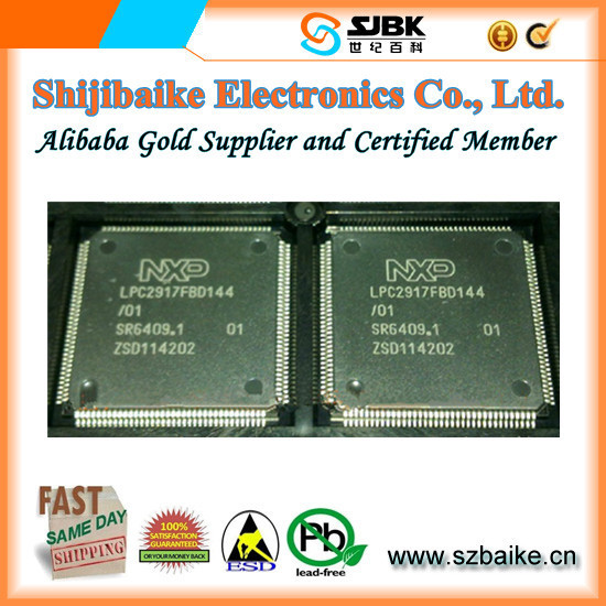 LPC2917FBD144 IC ARM9 MCU FLASH 512K 144LQFP