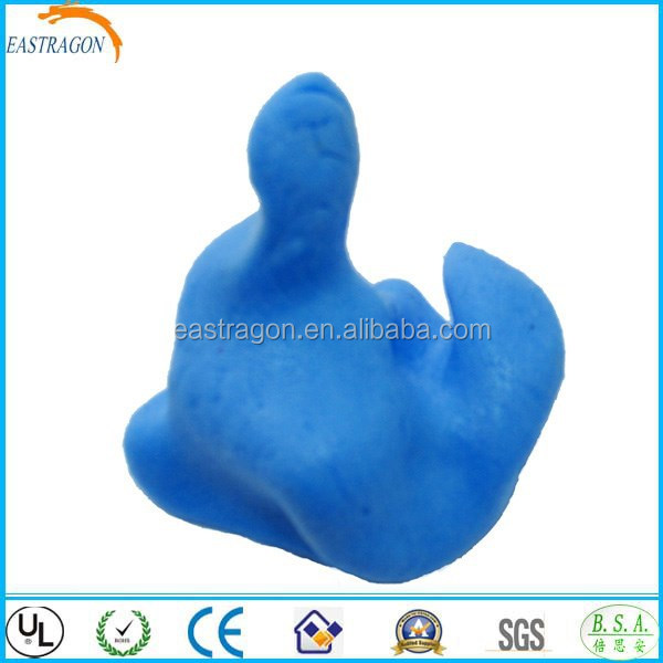 Colorful Non-toxic Silicone Earplugs Moldable with Box