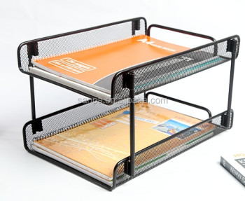 Metal Mesh Office Paper Tray Stackable Product On Alibaba