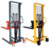 Quick Lifting Manual Hydraulic Platform Stacker