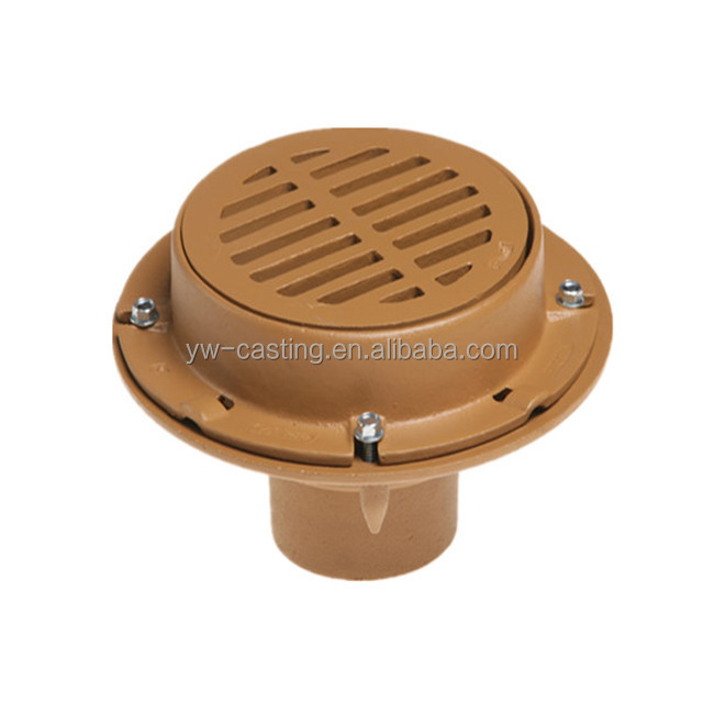 Chinese Factory High Quality Cast Iron Floor Drain Roof Drain
