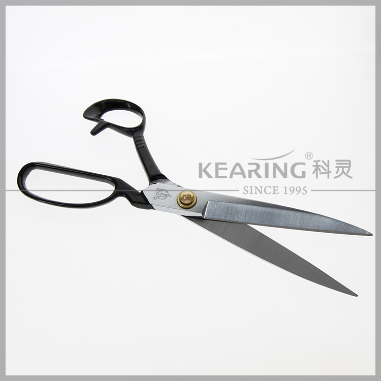 "10"" Durable Scissors Heavy-duty Manganese Steel Tailoring with carbon steel handle CC-10S"