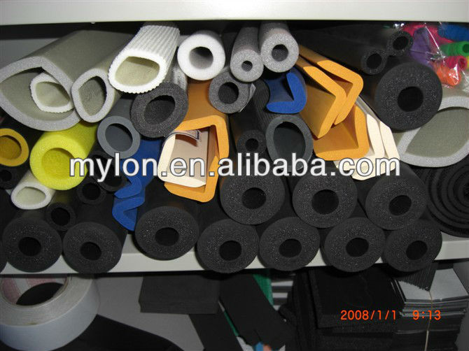 aluminum foil backed rubber foam pipe insolation