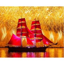 Yelkenli Gemi Boyama Tanıtım Promosyon Yelkenli Gemi Boyama Online