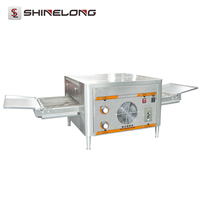 "12"" Pizza Continuously Baking Conveyor Pizza Oven Electric Commercial"