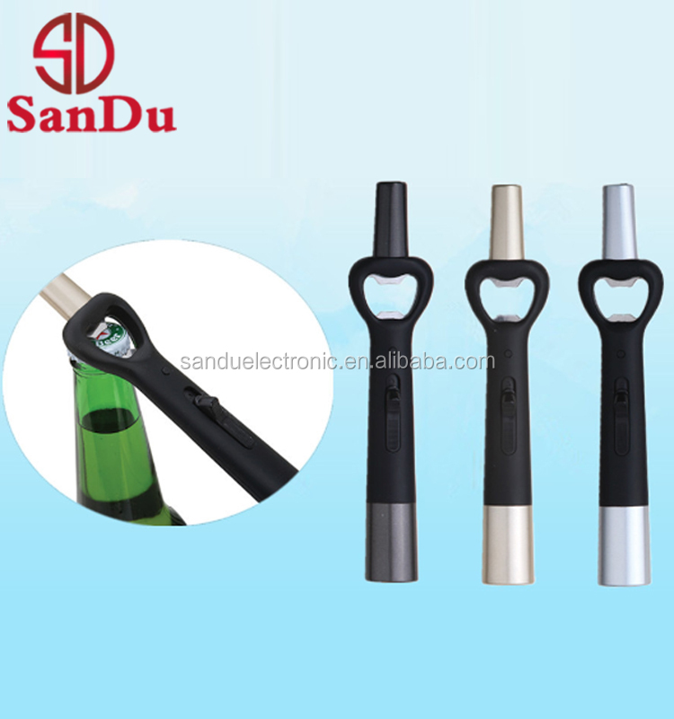 how to open wine bottle with lighter