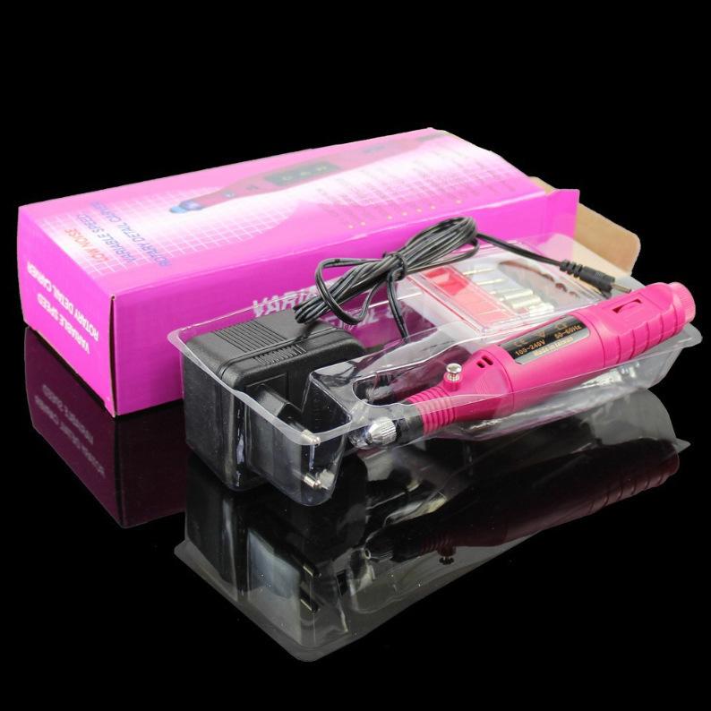 Free shipping Manicure tools 220V mini pen type electric special nail nail polishing machine polishing machine