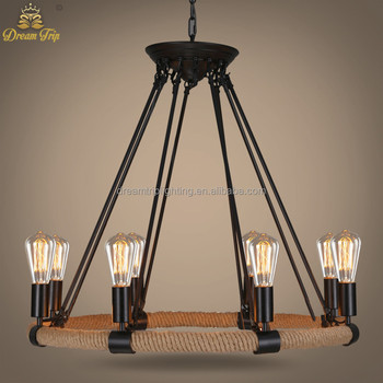Wrought iron brown 8 lights low ceiling lamp country style vintage wrought iron brown 8 lights low ceiling lamp country style vintage industrial used commercial rattan chandeliers aloadofball Image collections