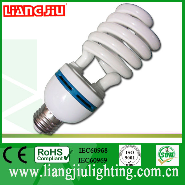 half spiral cfl 12 volts dc bulbs made in China zhongshan