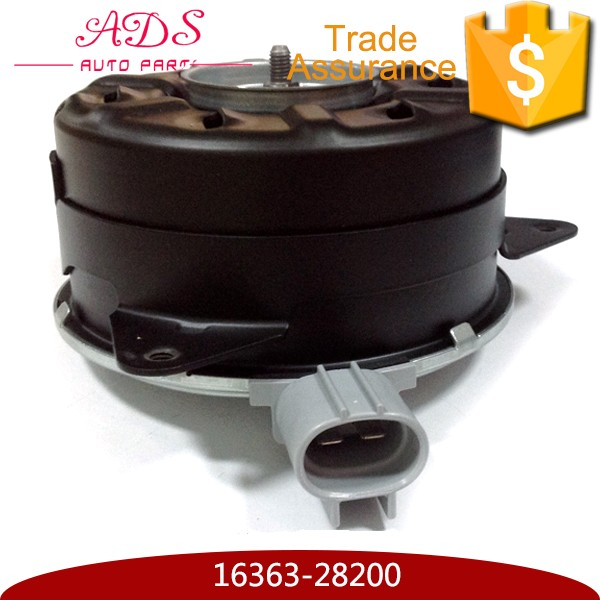 Car Denso Radiator Cooling Fan Motor For Corolla ZZE122 Avensis Yaris Lexus with OEM 16363-28200