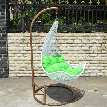 Genial Outdoor Furniture Single Seat Egg Shaped Swing Chair