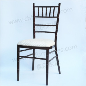wholesale tiffany chiavari wedding event chair with fixed padding