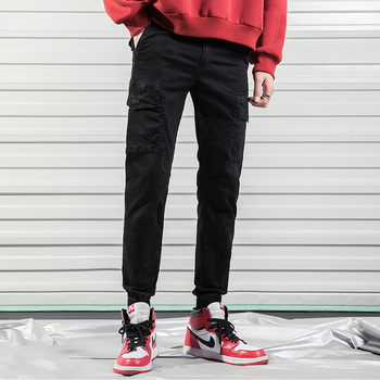 2019 new mens joggers trousers cheap baggy cargo pants