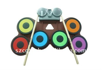 Percussion Children Electronic Drum Set Toy Mini Drum Kit Buy