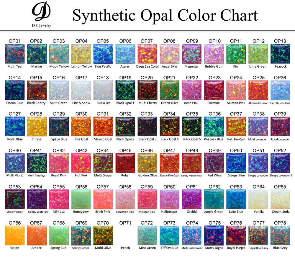 Synthetic Opal Rough (best Quality) 78 Colors,Lab Created ...