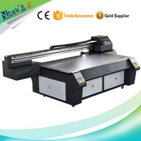 CE approved multi-color 2513 UV digital flatbed printer for excellent quality printing, wood adornment photo printing machine