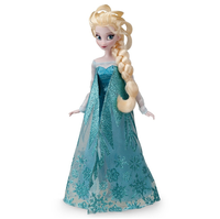 high quality frozen singing elsa doll toy