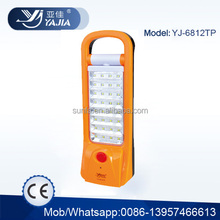 yajia 32SMD LED dp rechargeable emergency light YJ-6812TP DP