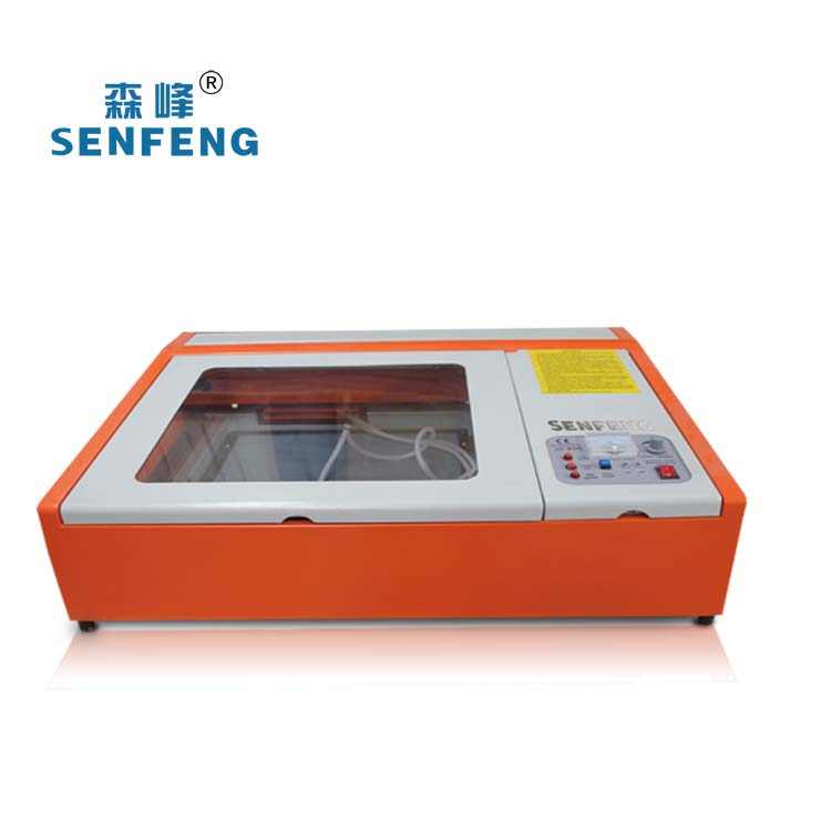 Low cost 50W laser rubber stamp engraving machine for sale