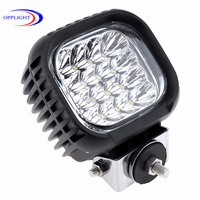 Guangzhou automotive aluminum 48W led worklight, 48w led driving lights for truck, 24v led trailer lamp