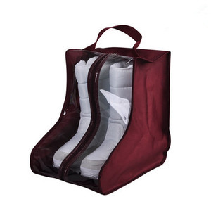 Home boots storage bag visible shoe shaped storage bag