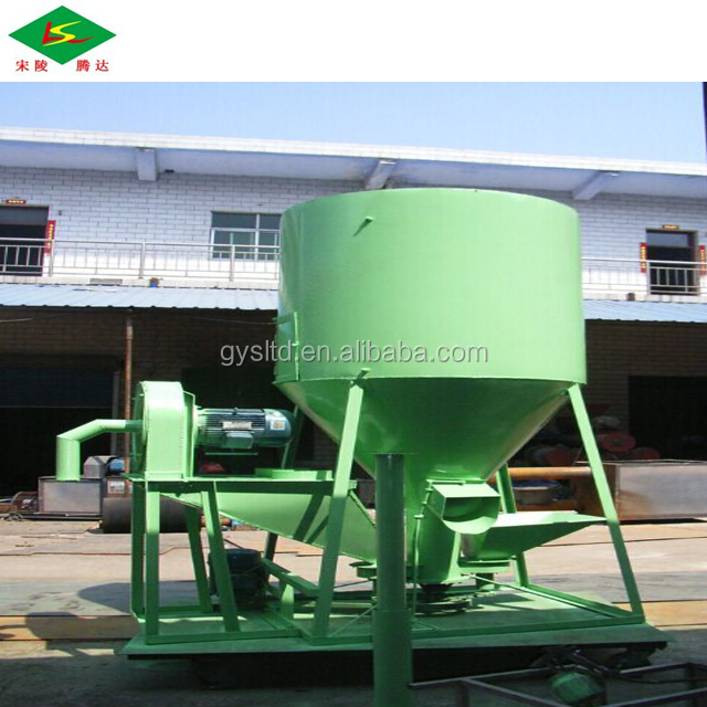 Farm use animal feed crusher and mixer hammer mill cattle feed mill equipment
