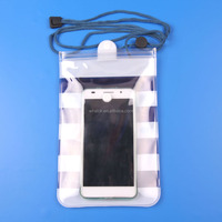 High Quality Waterproof Phone Bag Dry Cell Phone Bags For Iphone6 Mobile Phone Waterproof Bags