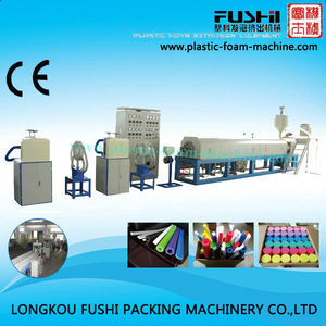 PE Foam Tube/Rod/Net Extrusion machine for packing material