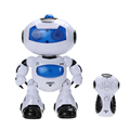 2017 New Arrival RC Robot Toy Remote Control Musical Electronic Toy Walk Dance Lightenning Robot Toy